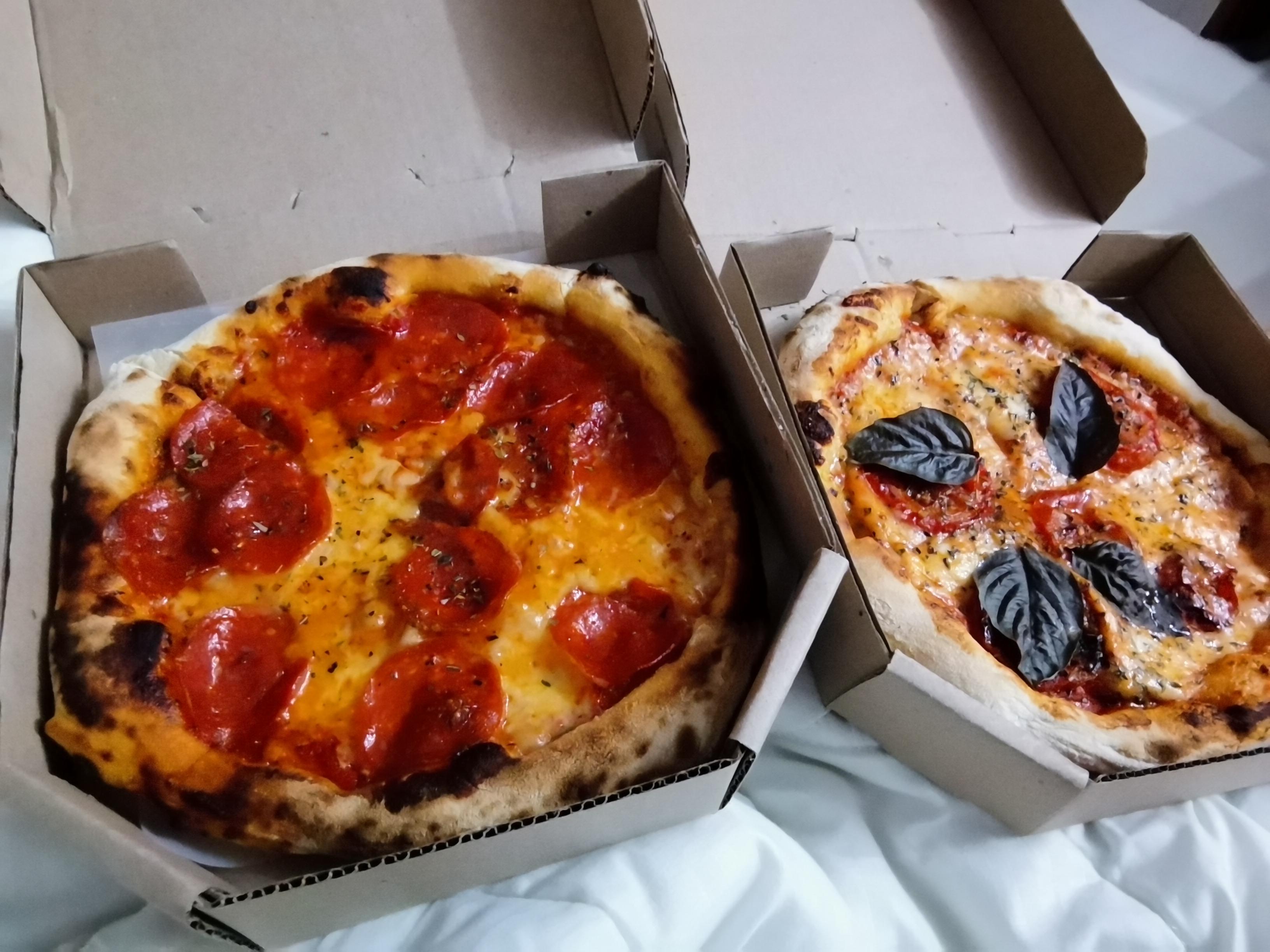 Román pizza